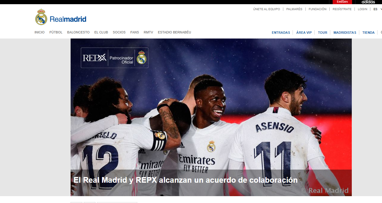 REALMADRID.COM – Real Madrid and REPX sign collaboration agreement